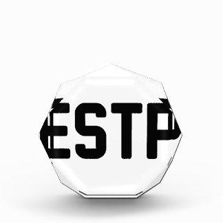 ESTP 表彰盾