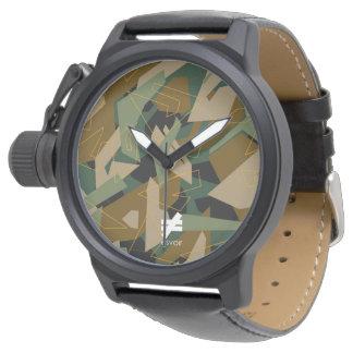 Esvoirの迷彩柄Mk1 腕時計