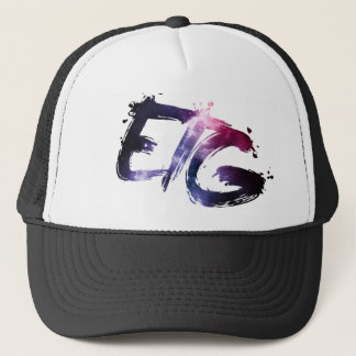 ETGの銀河系のロゴのトラック運転手の帽子 キャップ