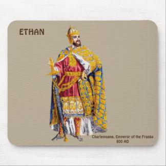 ETHANの~のために名前入りな皇帝のカール大帝の~ マウスパッド
