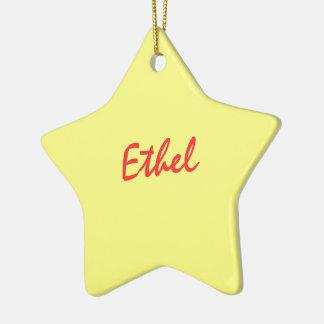 Ethelのオーナメント セラミックオーナメント
