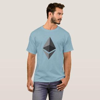 Ethererum (ETH) CryptocurrencyのTシャツ Tシャツ