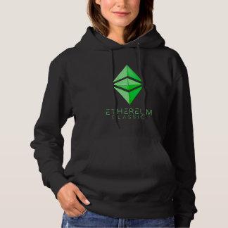 Ethereumのクラシックなシンプル(緑) パーカ