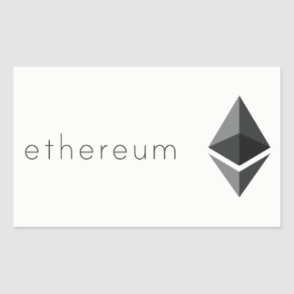 Ethereum 長方形シール