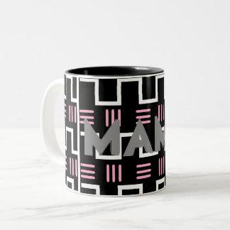 Ethnicママの母の日のマグ ツートーンマグカップ