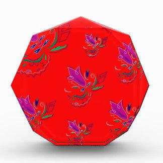 Ethnoのボリビアの贅沢な花/コレクション 表彰盾