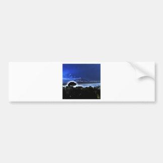 Etnaの夕べの霧 バンパーステッカー