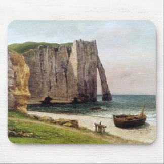 Etretat 1869年の崖 マウスパッド