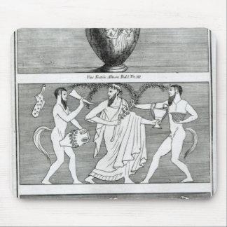 Etruscanのつぼからの2つの場面 マウスパッド
