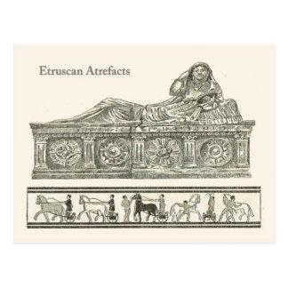 Etruscanの人工物2 ポストカード