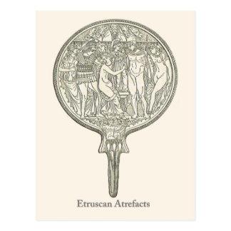 Etruscanの人工物4 ポストカード