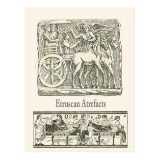 Etruscanの人工物5 ポストカード