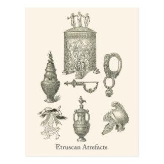 Etruscanの人工物6 ポストカード
