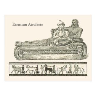 Etruscanの人工物 ポストカード