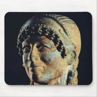 Etruscanの女性の頭部 マウスパッド