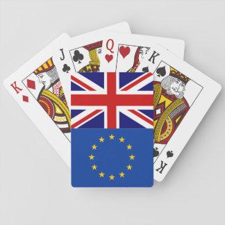 EUのカードを遊ぶイギリスの国民投票のbrexitの投票 トランプ