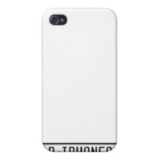 EUのナンバープレート iPhone 4 カバー