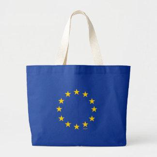 EUの旗(欧州連合) ラージトートバッグ