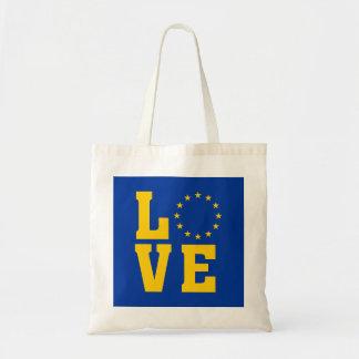 EUの旗、欧州連合、愛トートバック トートバッグ
