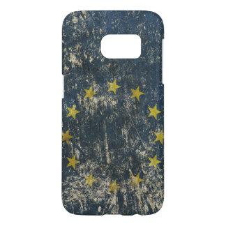EUのSamsungの銀河系S7の箱の旗 Samsung Galaxy S7 ケース