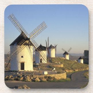 EU、スペインのLa Mancha、Consuegra。 風車 コースター