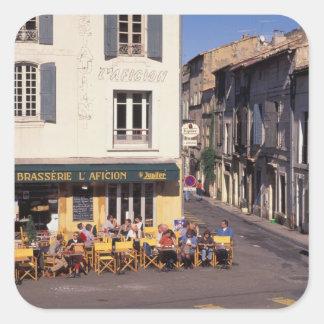 EU、フランス、プロバンス、Bouches DUローヌ、Arles. スクエアシール