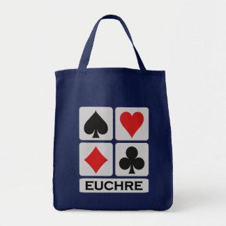 Euchreのバッグ-スタイル及び色を選んで下さい トートバッグ