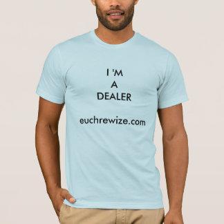 EuchreのWizeのディーラーのTシャツ                  … Tシャツ