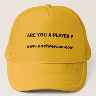 EuchreのWizeの黄色い帽子 キャップ