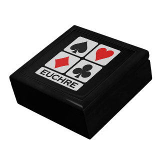 Euchreプレーヤーのギフト用の箱 ギフトボックス