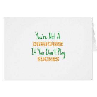 Euchre Dubuqueアイオワ カード