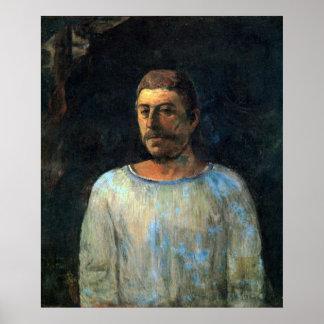Eugèneアンリーポール・ゴーギャン著Galgotha ポスター