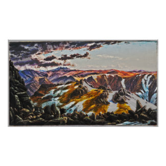 EugeneフォンGUERardd -山Townsend (変更される) ポスター