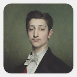 EugeneルイナポレオンBonaparte 1874年 スクエアシール