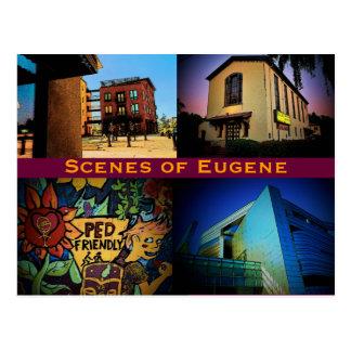 Eugene場面郵便はがき ポストカード