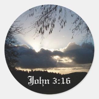 Eugene、または…ジョンの3:16 ラウンドシール