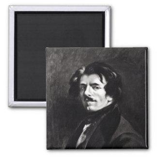 Eugene Delacroixのポートレート マグネット
