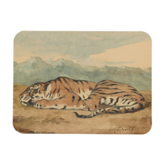 Eugene Delacroix -王室のなトラ マグネット