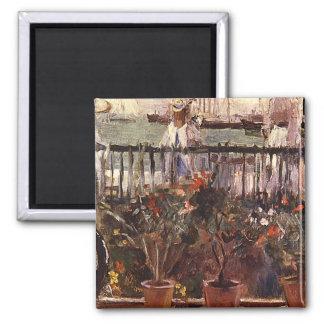 Eugene Manet l'Ile_Impressionists マグネット