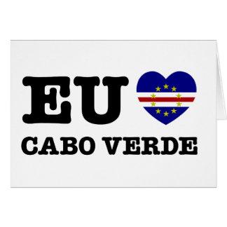 Eul Amo Cabo Verde カード