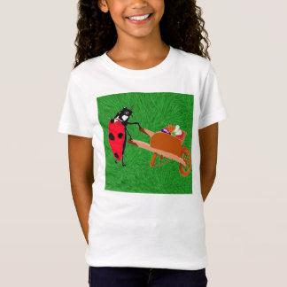 Eulaおよび彼女の赤い手押し車 Tシャツ