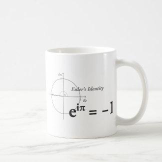 Eulerのアイデンティティの数学の方式 コーヒーマグカップ