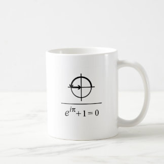 Eulerのアイデンティティ コーヒーマグカップ