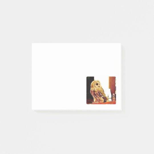 Eurasian scops owl Post-it® Sticky Notes ポストイット