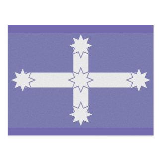 Eurekaの旗 ポストカード