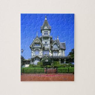 Eureka、カリフォルニアのカーソンの大邸宅 ジグソーパズル