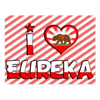 Eureka、カリフォルニア ポストカード