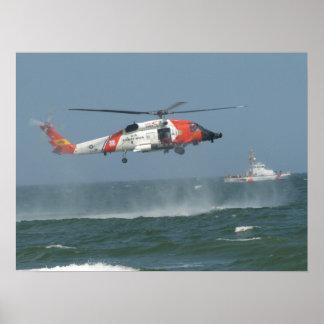 Eurocopter MH-65Dのイルカ ポスター