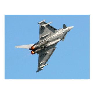 Eurofighterの台風 ポストカード