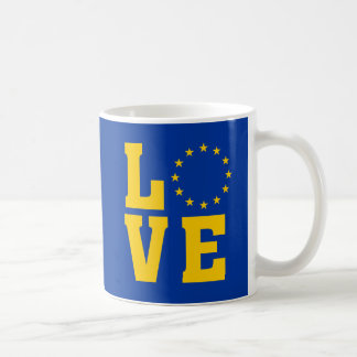 European Union LOVE mug コーヒーマグカップ